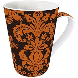 Konitz Rocaille Orange Mugs (Set of 4)