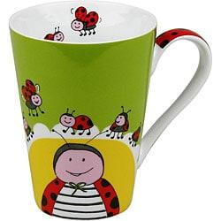 Konitz Globetrotter Ladybug Mugs (Set of 4)
