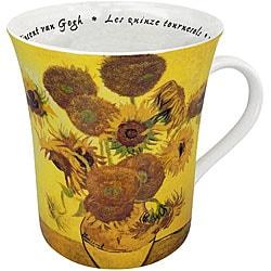 Konitz Les Fleurs Chez Les Peintres - van Gogh Mugs (Set of 4)