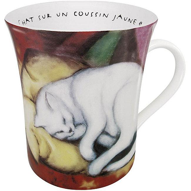 Konitz Les Chats Dans L'Art - Marc Mugs (Set of 4)