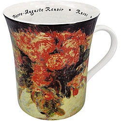 Konitz Les Fleurs Chez Les Peintres - Renoir Mugs (Set of 4)
