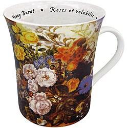 Konitz 'Les Fleurs Chez Les Peintres - Burst' Mugs (Set of 4)
