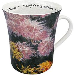 Konitz 'Les Fleurs Chez Les Peintres -Monet' Mugs (Set of 4)