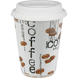 Konitz Coffee Collage Travel Mugs (Set of 4)