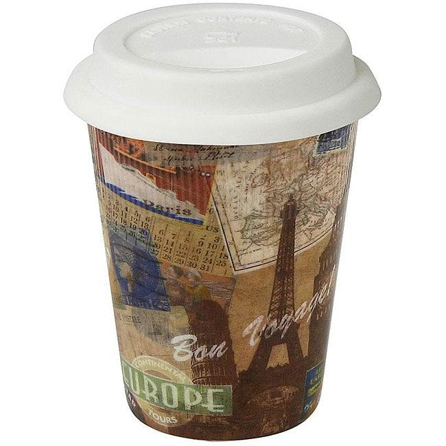 Konitz Bon Voyage! Travel Mugs (Set of 4)
