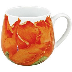 Konitz Poppy Blossom Snuggle Mugs (Set of 4)