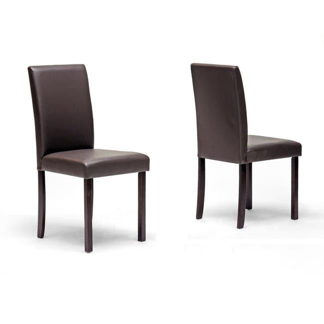 Susan Brown Modern Dining Chair Set of 2 Free Shipping
