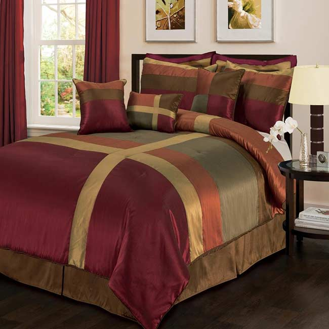Lush Decor Iman 8-Piece Comforter Set - Thumbnail 0