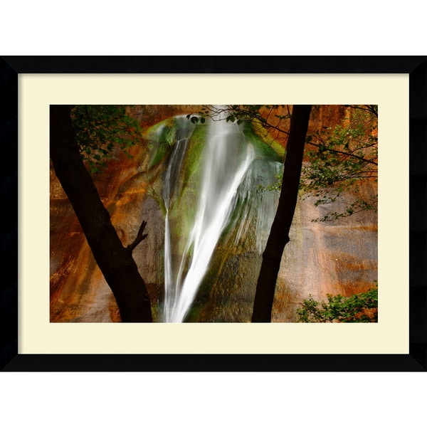 Andy Magee 'Calf Creek Falls' Framed Print Art