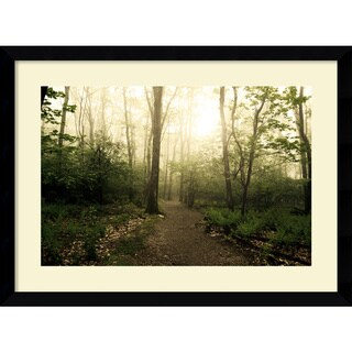 Framed Art Print 'Appalachian Trail' by Andy Magee 39 x 29-inch
