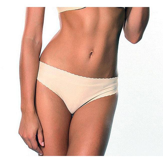 Donna di Capri Sexy Seamless Nude Microfiber Thong