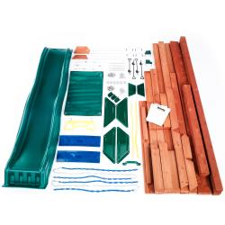Swing-N-Slide McKinley Wooden Complete Play Set - Thumbnail 1