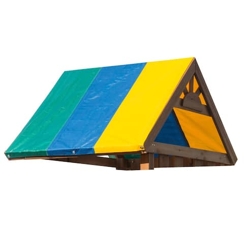 "Swing-N-Slide Multi-Color Swing Set Tarp - 52"" x 90"""