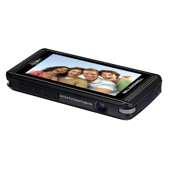 Bell + Howell DVP6HD HD Digital Camcorder with Built-in Projector