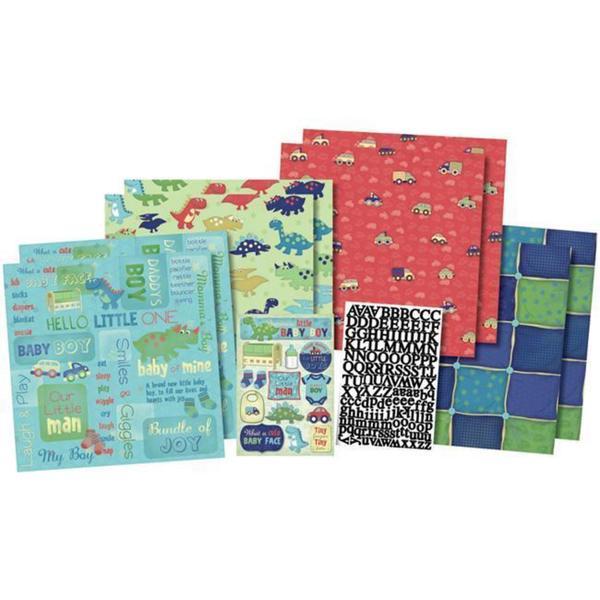 Karen Foster 'Our Little Man' Scrapbook Kit
