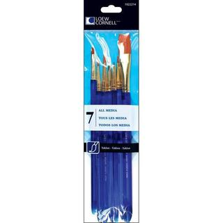 Loew Cornell Taklon 7-piece Craft Brush Set