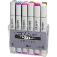 Copic Ex-5 Sketch Markers (Set of 12)