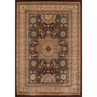 Preston Brown Tabriz Rug (9'3 x 12'6)