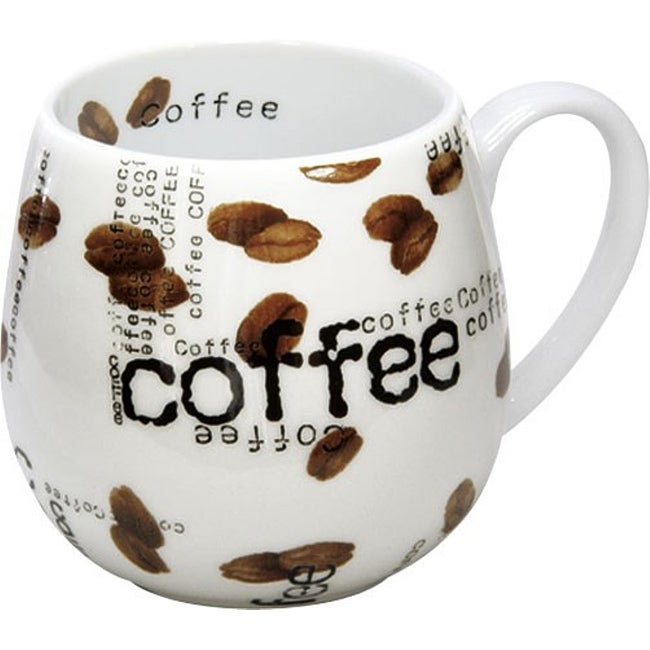 Konitz Snuggle Coffee Collage Mugs (Set of 4)
