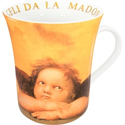 Konitz Angell Madonna Sistina Mugs (Set of 4)