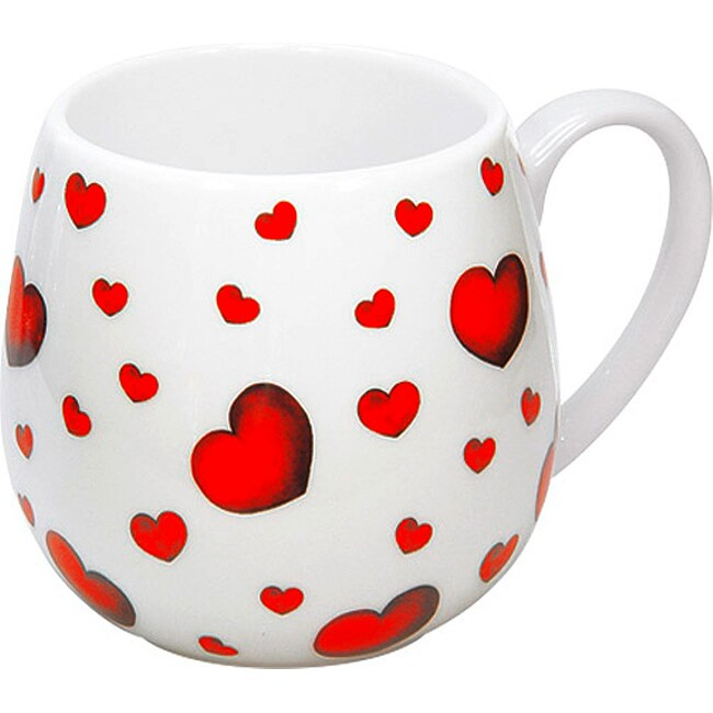Konitz Little Hearts Snuggle Mugs (Set of 4)