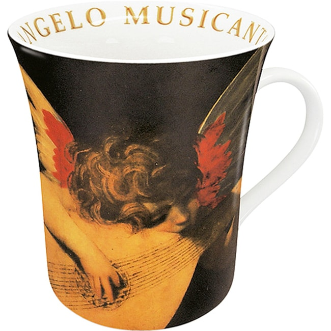 Konitz Mugs L'Angelo Musicante Di Rosso (Set of 4)