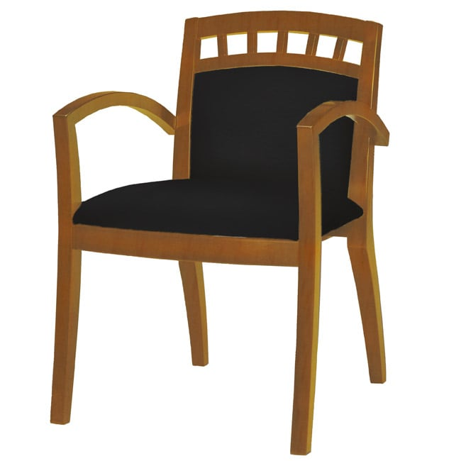 Mayline Wood Guest Seats (Pack of 2)