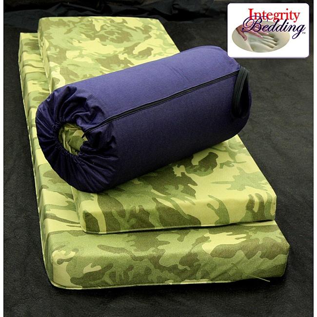 Integrity Bedding Children's Roll-n-Go Memory Foam Sleeping Pad
