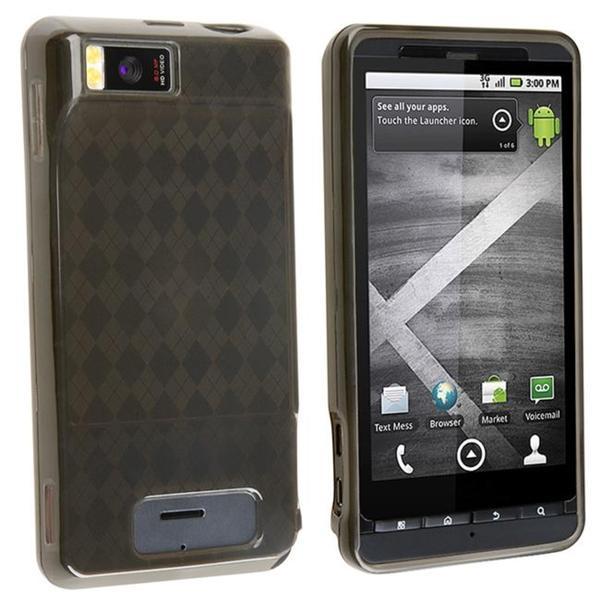 Smoke Argyle TPU Case for Motorola Droid Xtreme MB810