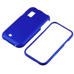 Blue Rubber Coated Case for Samsung Fascinate/ Galaxy S - Thumbnail 1