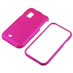 Pink Rubber Coated Case for Samsung Fascinate/ Galaxy S - Thumbnail 1