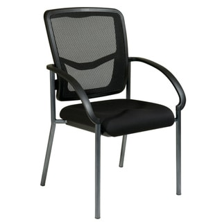 Office Star Arms and ProGrid Back Visitors Chair