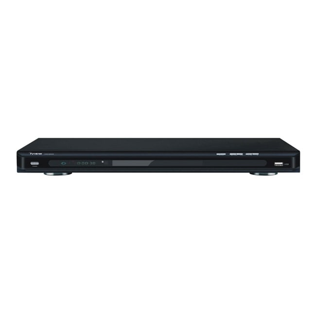 iView 2600HD Up-converting Black DVD Player