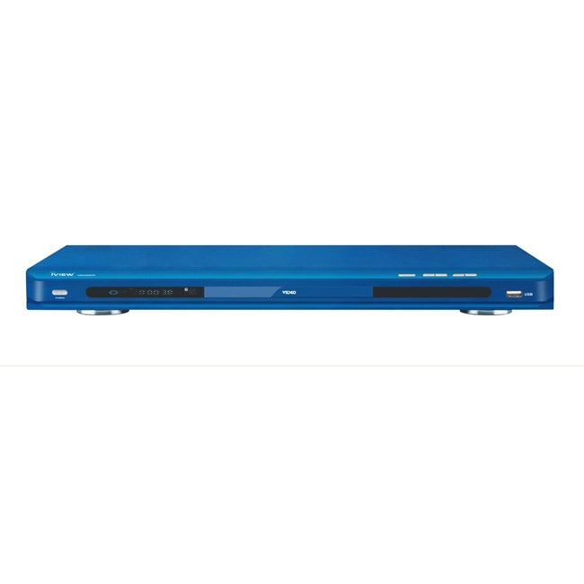 iView 2600HD Up-converting Blue DVD Player