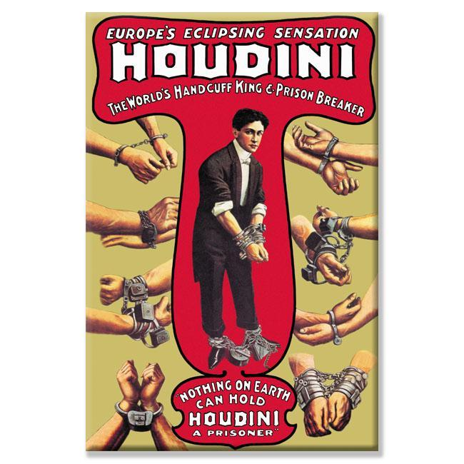 Russel and Morgan 'Houdini: The World's Handcuff King' Canvas Art