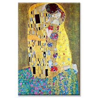 Gustav Klimt 'Kiss' Canvas Art