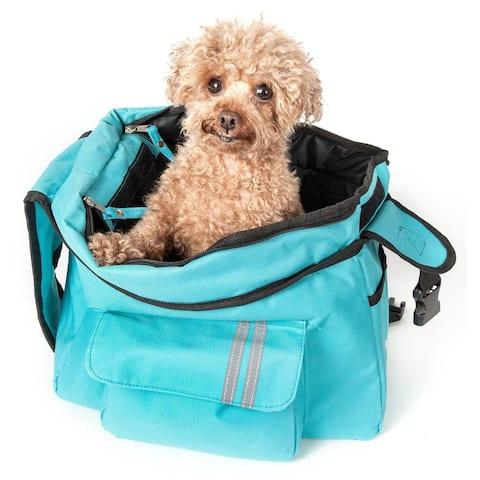Pet Life Black Summit Shoulder Pet Carrier - One size