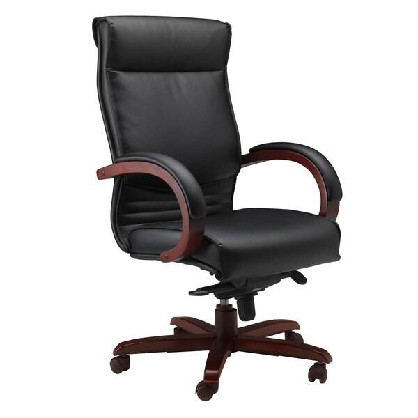 Mayline Mercado Wood Series Corsica Chair