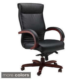 Mayline Mercado Wood Series Corsica Chair