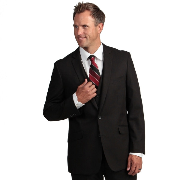 Shop Kenneth Cole Reaction Men s Slim-Fit Black Suit Separate Coat ... c542e3102