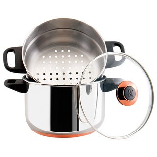 Paula Deen Signature Stainless Steel Cookware 3-quart Steamer Set