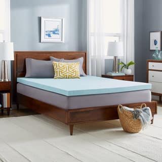 Slumber Solutions Gel Memory Foam 3-inch Mattress Topper with Cover|https://ak1.ostkcdn.com/images/products/5938210/P13638044.jpg?impolicy=medium