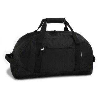 J World Black 'Lawrence' 21-inch Sport Duffel Bag