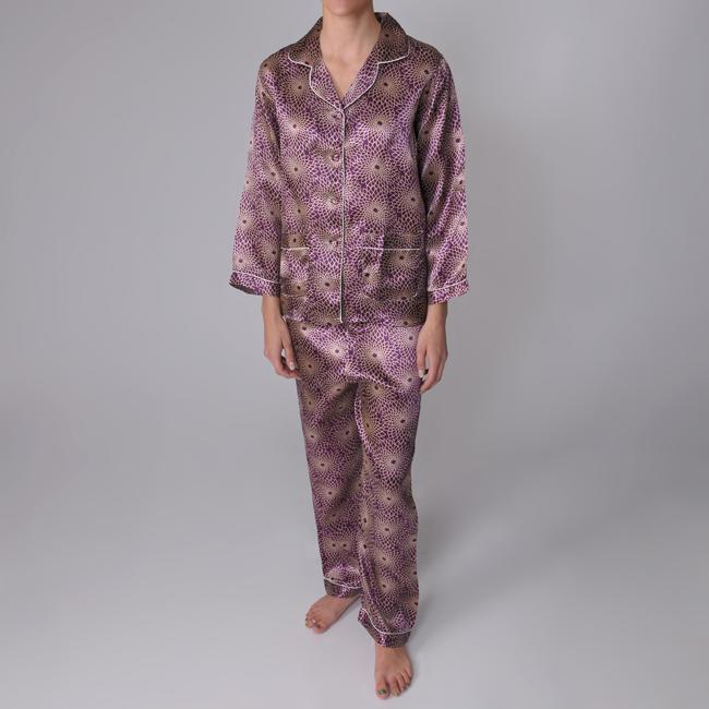 Liliana Women's 2-piece Long-sleeve Pajama Set