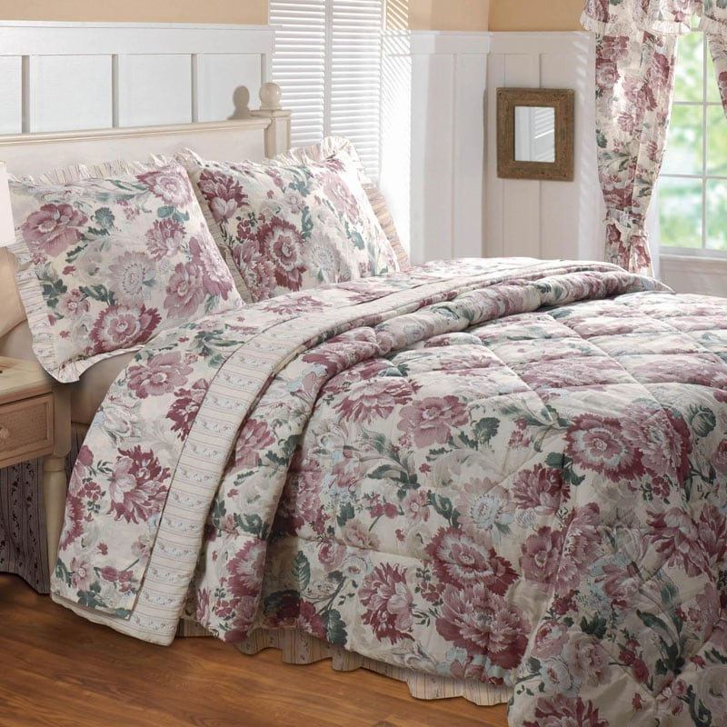 Greenland Home Fashions Emily 4-piece Full-size Comforter Set