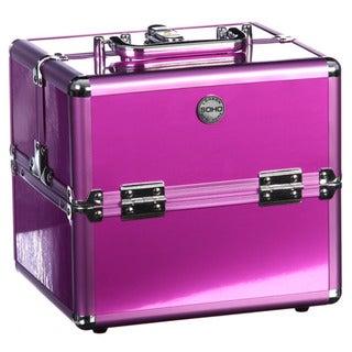 Soho Purple Eye Pop Beauty Case