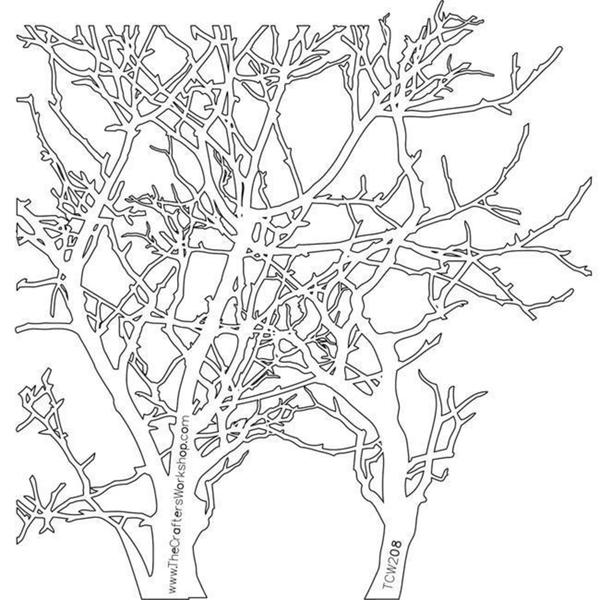 Crafter's Workshop Branches Template