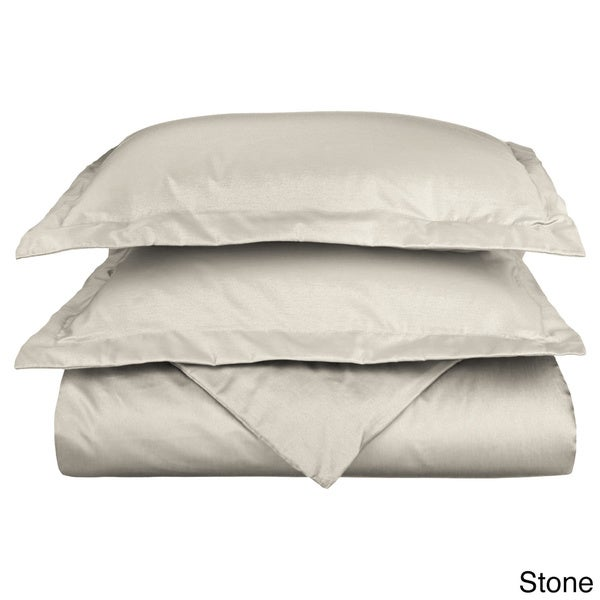 superior 600 thread count wrinkle resistant cotton blend duvet cover set free shipping today