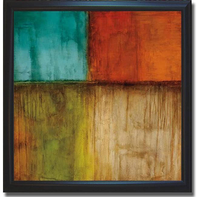 Kurt Morrison 'Spectrum I' Framed Canvas Art