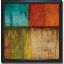 Kurt Morrison 'Spectrum I' Framed Canvas Art